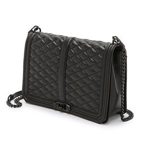 Rebecca Minkoff Large Quilted Love Crossbody Bag